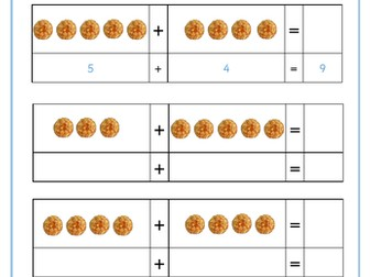 Pancake Themed Maths Worksheet - Addition and Subtraction to 10