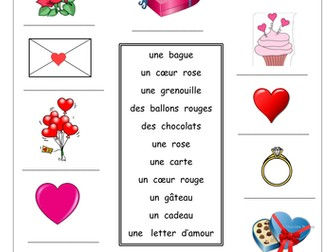 FRENCH ~ La Saint Valentin ~ Activities