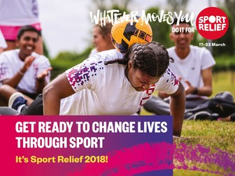 Sport Relief 2018: Sport for Change - Film and Assembly (Secondary)