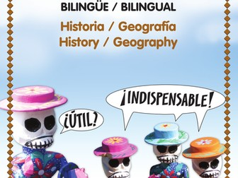 Composition Topics F – HISTORY AND GEOGRAPHY - Bilingual writing assignments