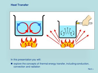 Heat Energy - Heat Transfer