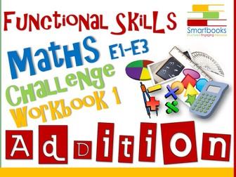 Functional Skills Maths - Challenge Workbook 1 - Addition