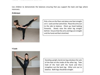 Gymnastic Balances