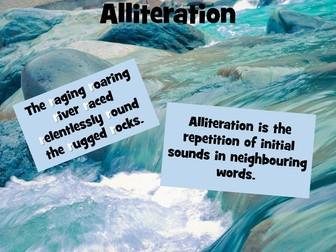 Similes, Metaphors, Personification, Idioms, Onomatopoeia  Posters