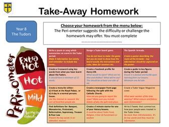 Tudor Take-Away  Homework