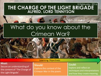 The Charge of the Light Brigade - Alfred Lord Tennyson (Edexcel Conflict Poetry Cluster GCSE 1-9)