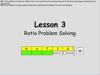 Year 6: Ratio (Lesson 3)