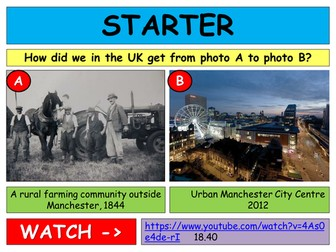 AQA Changing Urban Environments FULL SCHEME OF LESSONS, RESOURCES AND REVISION
