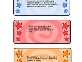 Diwali flashcards