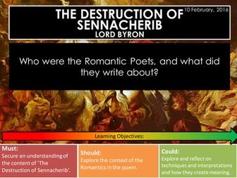 The Destruction of Sennacherib - Lord Byron (Edexcel Conflict Poetry Cluster GCSE 1-9)