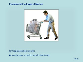 Force and Motion - Forces and the Laws of Motion