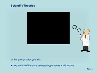 Scientific Methodology - Scientific Theories