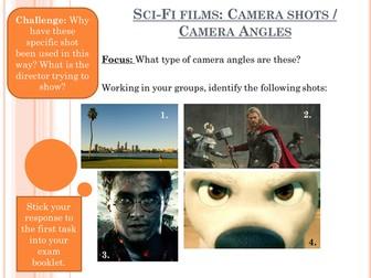 Sci-Fi Film Shot Types
