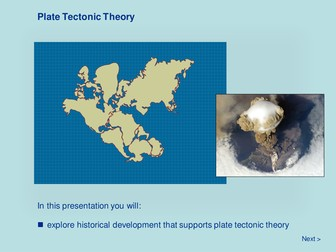Earth Systems - Plate Tectonic Theory & Plate Tectonics