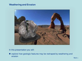 Earth Systems - Weathering and Erosion