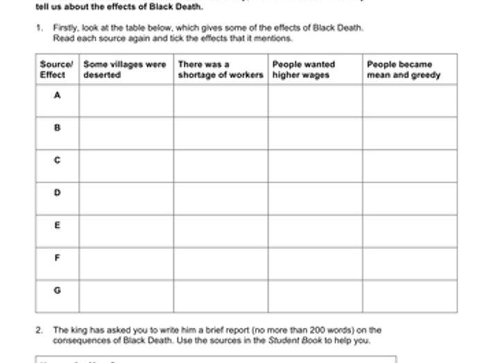 Black Death Journal