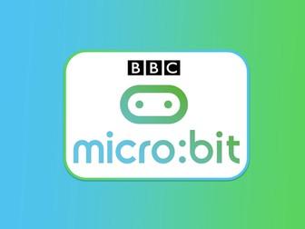 BBC Micro:bit Lesson One