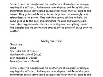RE - How does Jesus inspire Christians - Year 3 - complete scheme available - Lesson 5