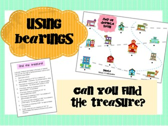 Bearings Treasure Map Activity