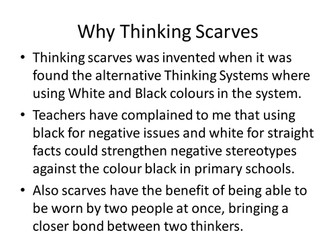 Thinking Scarves - The Creative Thinking System for Primary Schools