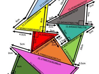 Pythagoras Theorem Pile Up