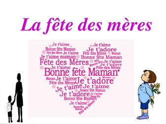French Mother's day