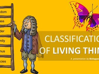 Classification of Living Things Presentation