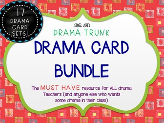 Drama Cards CLASSIC BUNDLE (17 sets of drama cards)