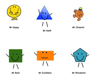 Year 2 - Classifying 2D shapes