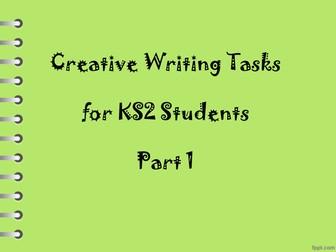 Creative Writing Tasks for KS2 Students