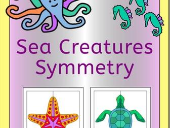 Symmetry - Sea Creatures