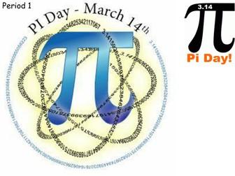 Pi Day Starters