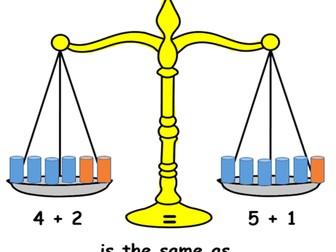 Simple KS1 balancing equation
