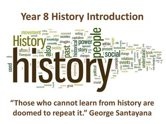 Introduction to History. What is History?