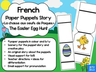 French Easter Puppet Show- An Egg Hunt