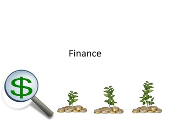 Business Studies Finance
