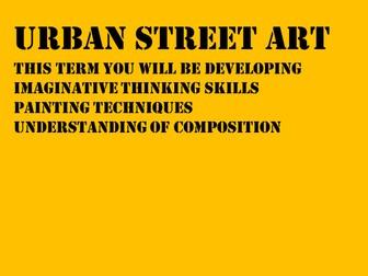 Urban Street Art Scheme of Work