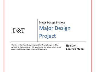 Healthy Canteen Design Project