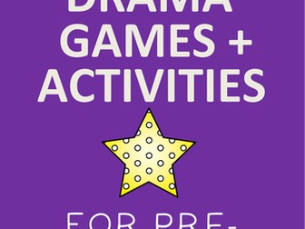 FREE Drama Games for Early Years