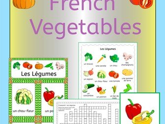 French Vegetables - Les Legumes