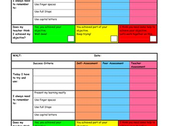 Success Criteria and assessment grids, plus Mastery Introductory powerpoint for staff (2 for 1)