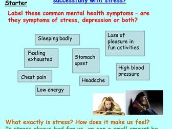 PSHE: Mental Health PSHE unit