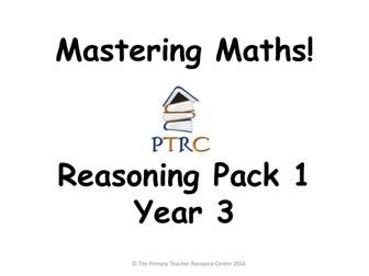 Year 3 SATs Reasoning Pack 1 - Mastering Maths