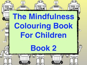 Relaxing Colouring Book For Children