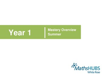 White Rose Maths Hub - Summer Schemes of Learning - More Detailed