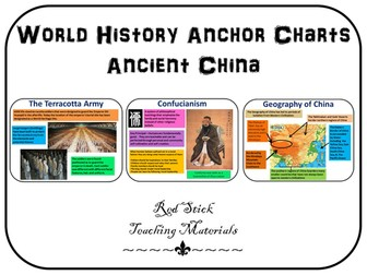 Ancient China Anchor Charts