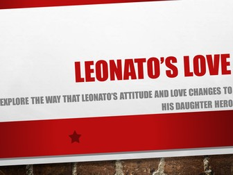 Much Ado About Nothing GCSE - Leonato's Love