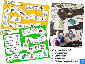 French Board Game: Sports
