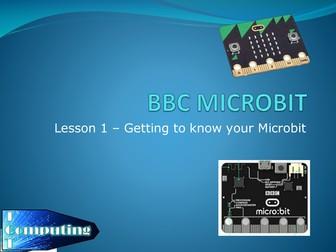BBC Micro:Bit differentiated lessons