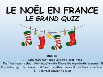 French Christmas Quiz